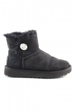 "UGG Winterstiefel ""W Mini Bailey Button Bling Black"" schwarz"