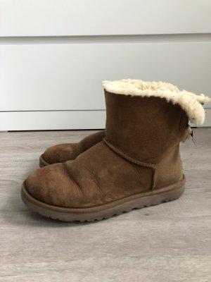 UGG Australia Fur Boots camel