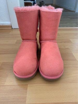 UGG Stivale da neve rosa chiaro