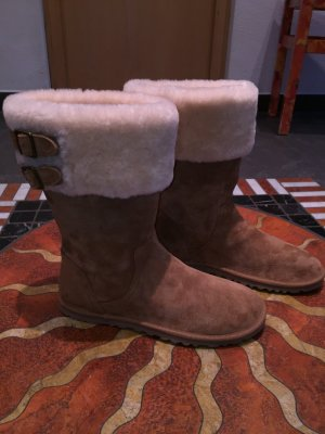 Uggs Beckham Double Buckle gr 40 in Chestnut, ungetragen!