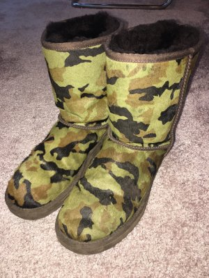 Uggs Camouflage Kuhfell