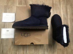 UGG Australia Snow Boots dark blue-blue