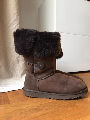 UGG Australia Winter Boots cream leather