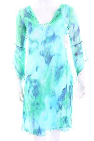 Ugli Sister Stretchkleid abstraktes Muster Romantik-Look