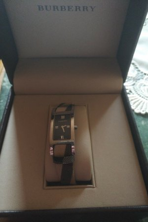 Burberry Analog Watch brown-cream