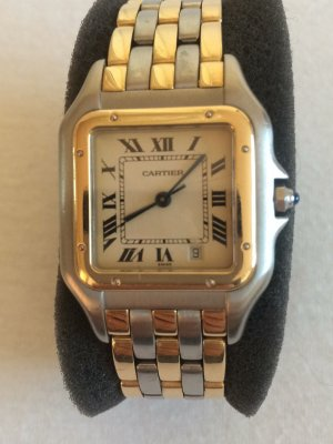 Cartier Self-Winding Watch gold-colored