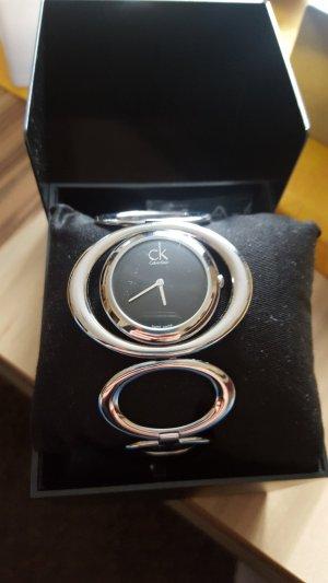 Calvin Klein Orologio con cinturino di metallo argento