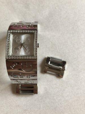 Guess Reloj con pulsera metálica color plata-gris claro