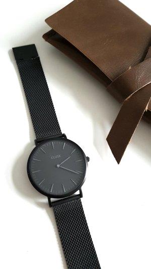 Uhr Armbanduhr Cluse Watch schwarz