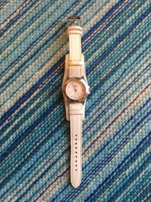 Uhr Armbanduhr Fossil weiß