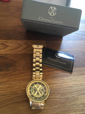 Christian Lacroix Watch gold-colored-black