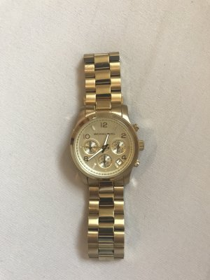 Uhr Chronograph Michael Kors gold