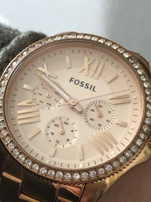 Uhr damenuhr Fossil Rose Gold rosegold