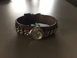 Esprit Watch brown-silver-colored