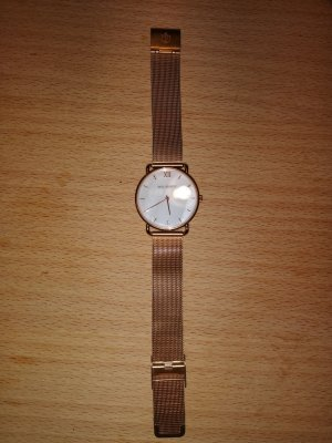 Paul Hewitt Watch With Metal Strap white-gold-colored