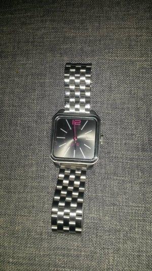 Edc Esprit Montre avec bracelet métallique argenté-rose