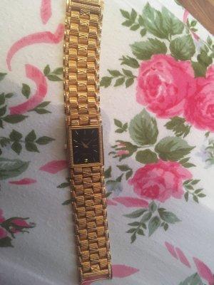 Horloge met metalen riempje goud Oranje Metaal
