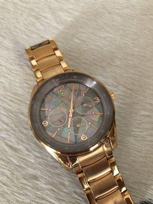 Uhr Fossil Mode Blogger Fashion Accessoires Gold Armbanduhr