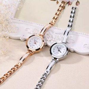 Uhr Frauen Drop Versand Relogio Feminino Geschenk Saat Uhr Vente chaude Modus De Luxe Femmes Montres Femmes Armband