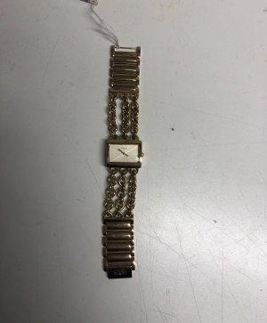 Uhr Gold Kettenarmband M&M