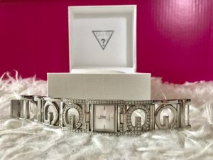 Guess Watch With Metal Strap silver-colored