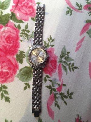 Rolex Horloge met metalen riempje zilver
