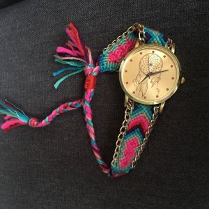 Montre multicolore