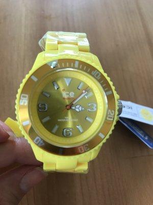 Uhr Ice solide yellow Watch, neu