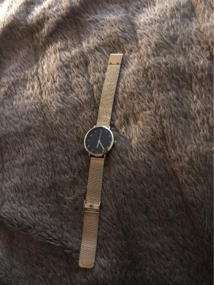 Even & Odd Watch With Metal Strap gold-colored-black