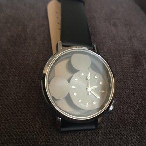 Uhr Minnie Maus schwarz