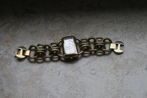 Uhr mit goldenen Gliedern von DKNY - Neue Batterie!