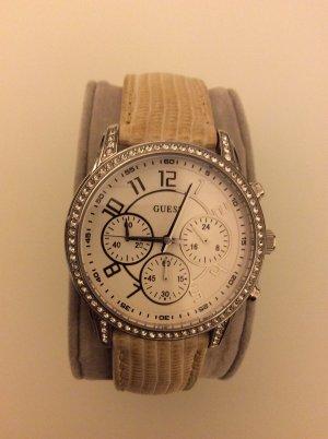 Uhr mit Strass-Lünette