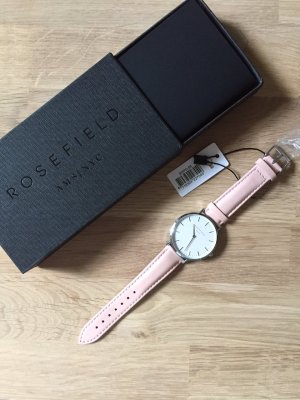 Uhr Rosefield Watches - The Bowery - rosa silber. NEU!