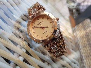 Uhr roségold rosègold rosa Gold rosagold
