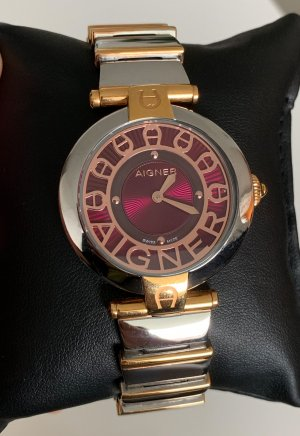 Aigner Watch With Metal Strap multicolored metal