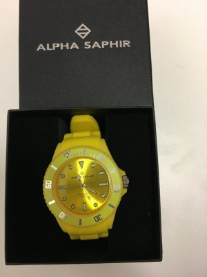 Uhr von Alpha Saphir