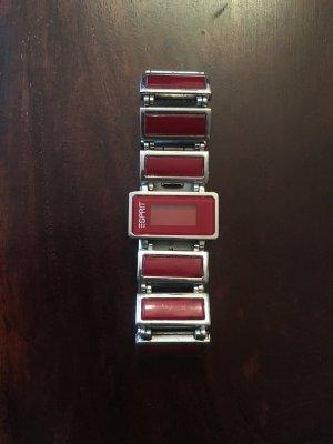 Uhr von Esprit #rot #armbanduhr
