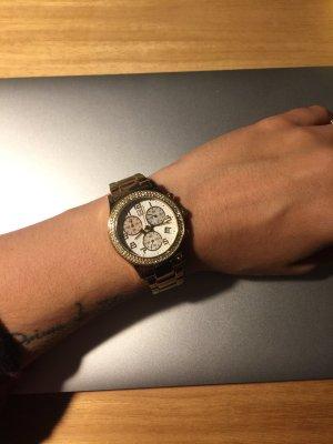 Uhr von Jette Joop im Gold mit Metall Armband