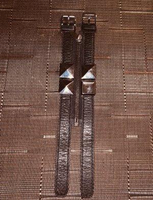 Karl Lagerfeld Montre avec bracelet en cuir noir-argenté