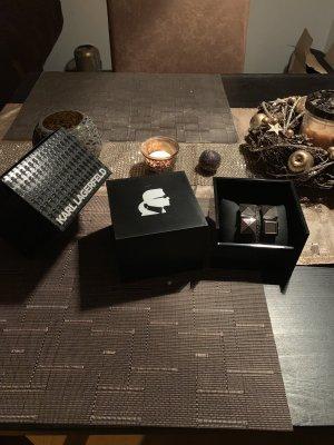 Uhr von Karl Lagerfeld Leder Lederarmband Armbanduhr