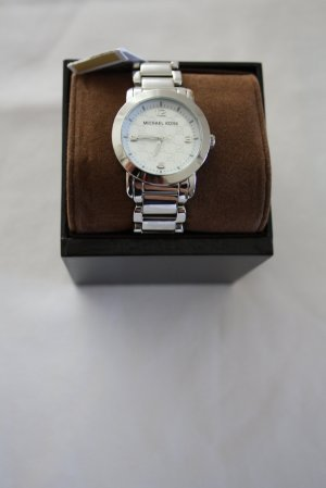 Michael Kors Watch With Metal Strap silver-colored metal