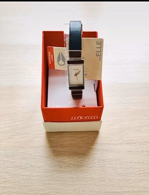 Nixon Analog Watch multicolored leather