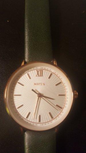 Uhr von Parfois selten getragen gold und grün