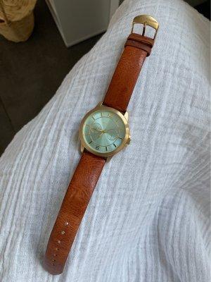 Pilgrim Analog Watch cognac-coloured