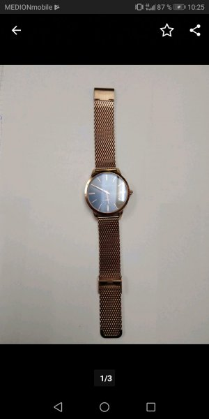 Thomas Sabo Watch With Metal Strap rose-gold-coloured