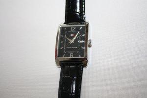 Uhr, von Tommy Hilfiger, in Schwarz