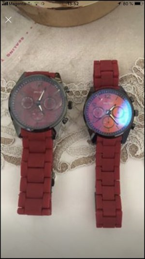 Watch Clasp dark red-bordeaux