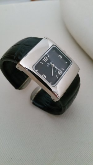 Uhrspange mit Lederband