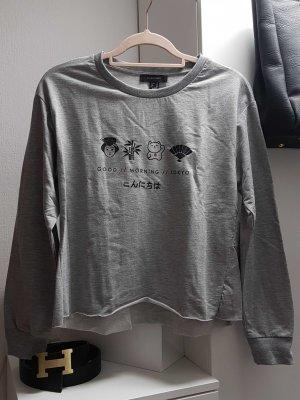 UK 12 Crop Sweater mit Glückskatze