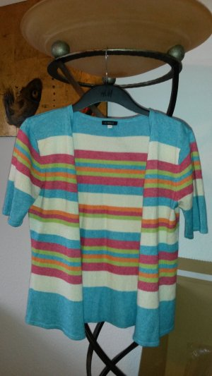 Uli Knecht Short Sleeve Knitted Jacket multicolored cashmere